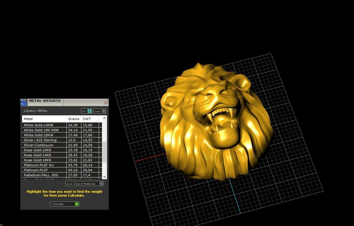 Screenshot_10.jpg Télécharger fichier STL gratuit Bague de lion Bijoux d'homme • Modèle pour imprimante 3D, Cadagency