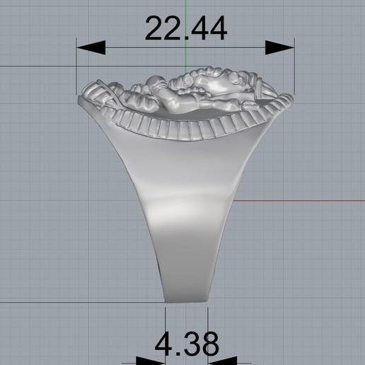 Screenshot_2.jpg Download free STL file Elephant ring Jewelry 3D print model • 3D printing template, Cadagency