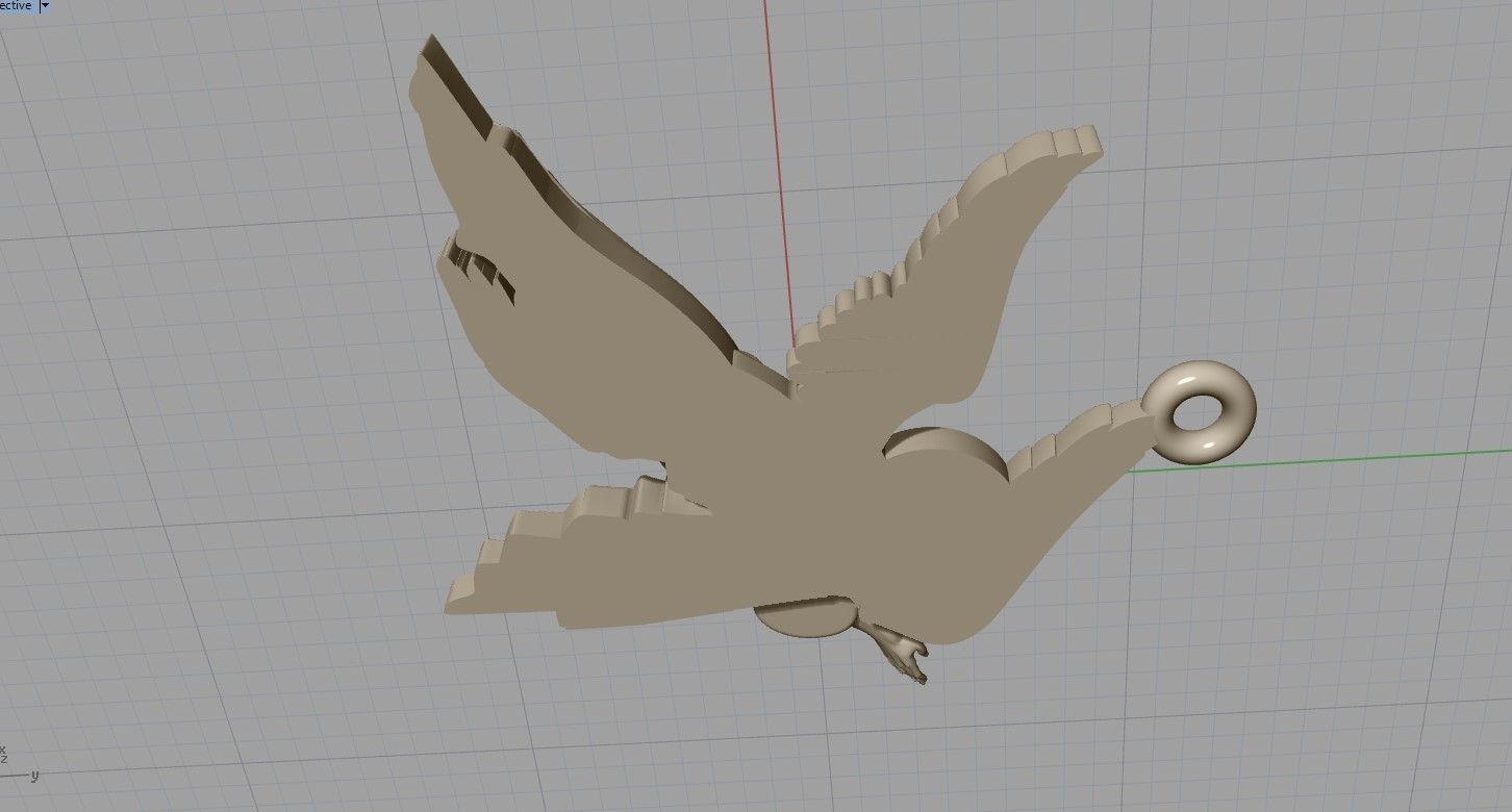 Screenshot_14.jpg Download free OBJ file Baby angel pendant  jewelry • 3D print design, Cadagency