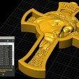Download free STL file Jesus Cross pendant medallion jewelry 3D print model • 3D printable object, Cadagency