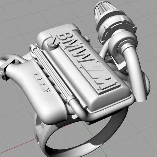 Screenshot_12.jpg Télécharger fichier OBJ gratuit BMW ring moteur ring mator ring • Design pour imprimante 3D, Cadagency