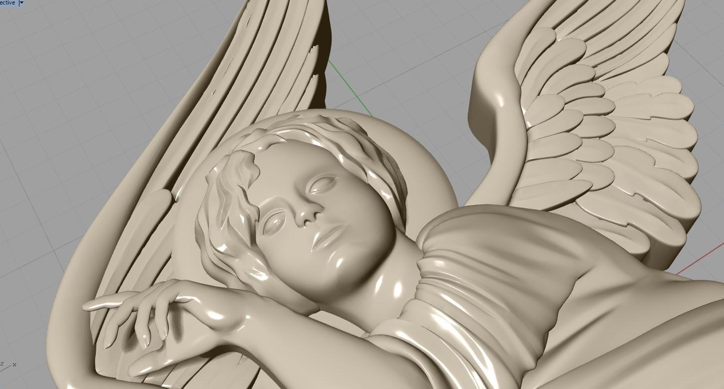 Screenshot_16.jpg Download free OBJ file Baby angel pendant  jewelry • 3D print design, Cadagency