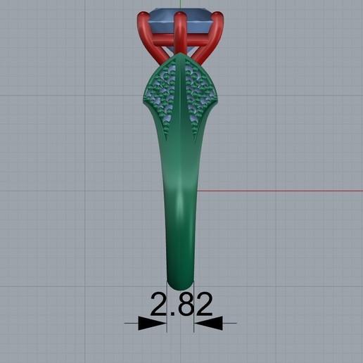 Screenshot_2.jpg Télécharger fichier STL gratuit bague de femme bague de femme bague de femme modèle d'impression 3D • Objet pour impression 3D, Cadagency