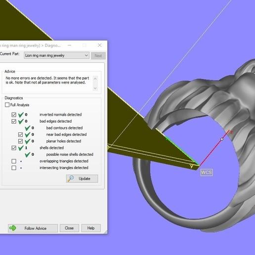 Screenshot_6.jpg Télécharger fichier STL gratuit Bague de lion Bijoux d'homme • Modèle pour imprimante 3D, Cadagency