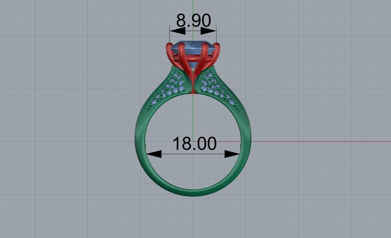 Screenshot_1.jpg Télécharger fichier STL gratuit bague de femme bague de femme bague de femme modèle d'impression 3D • Objet pour impression 3D, Cadagency