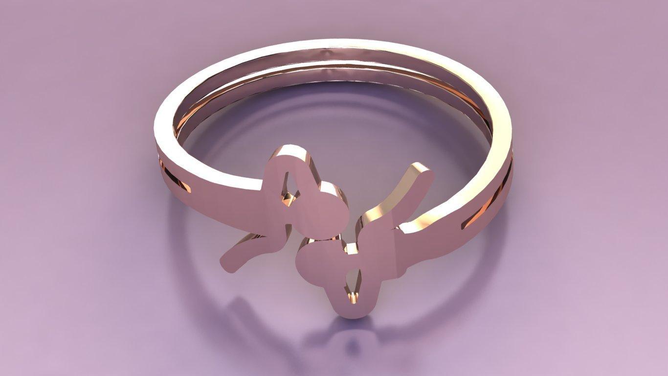 rend 2.jpg Télécharger fichier OBJ gratuit airy-ring man & woman love kiss • Design imprimable en 3D, Cadagency