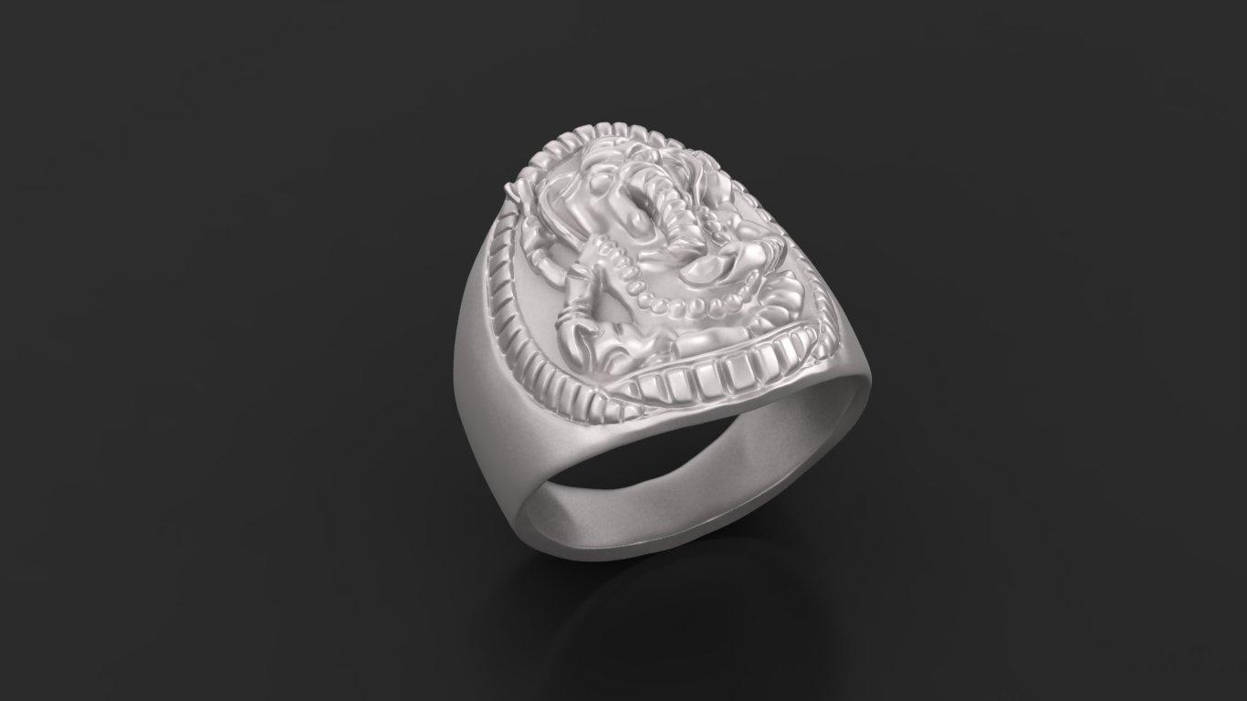 1.jpg Download free STL file Elephant ring Jewelry 3D print model • 3D printing template, Cadagency