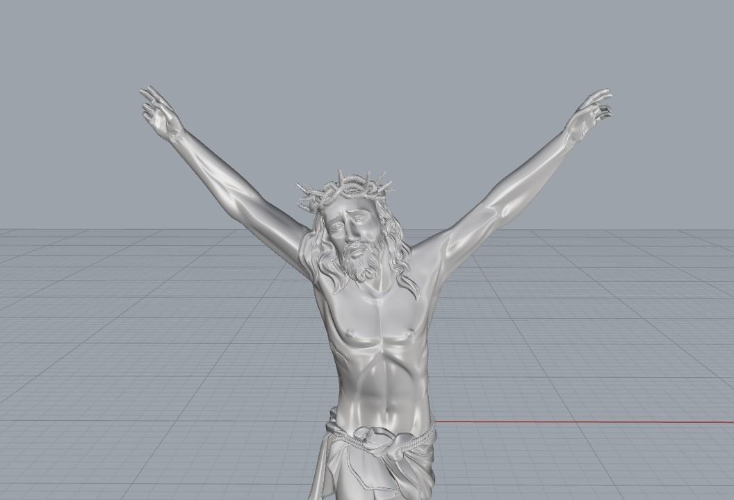 Screenshot_3.jpg Télécharger fichier STL gratuit Pendentif Jésus bijou croix prier chrétien modèle d'impression 3D • Objet imprimable en 3D, Cadagency