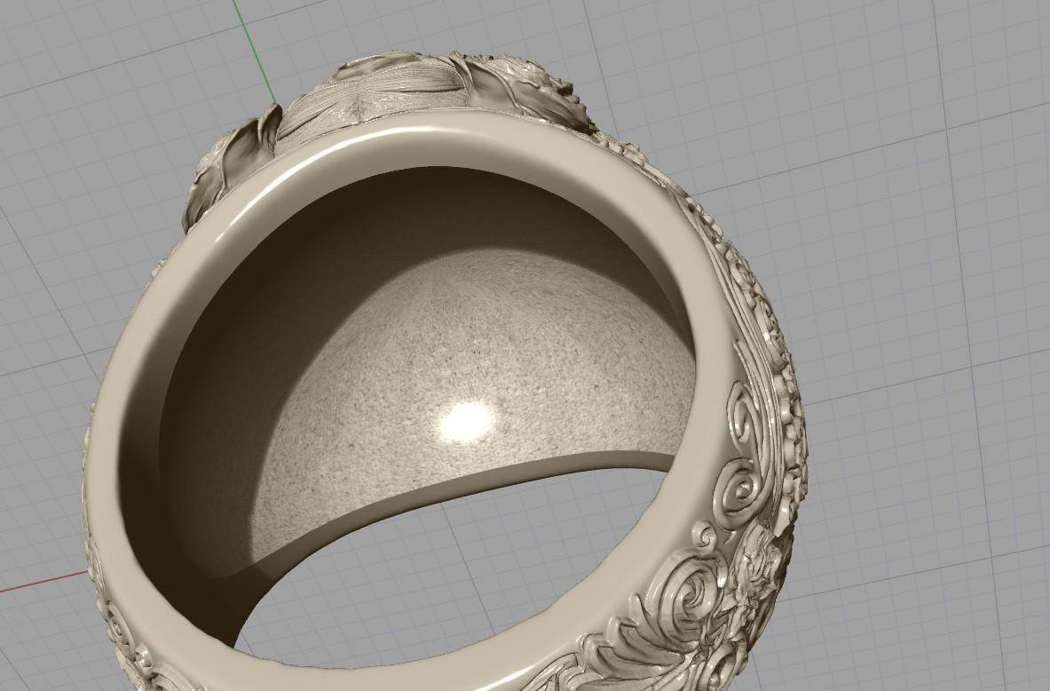 Screenshot_18.jpg Download free STL file Skull ring jewelry skeleton ring 3D print model • 3D print object, Cadagency