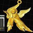 Screenshot_19.jpg Download free OBJ file Baby angel pendant  jewelry • 3D print design, Cadagency