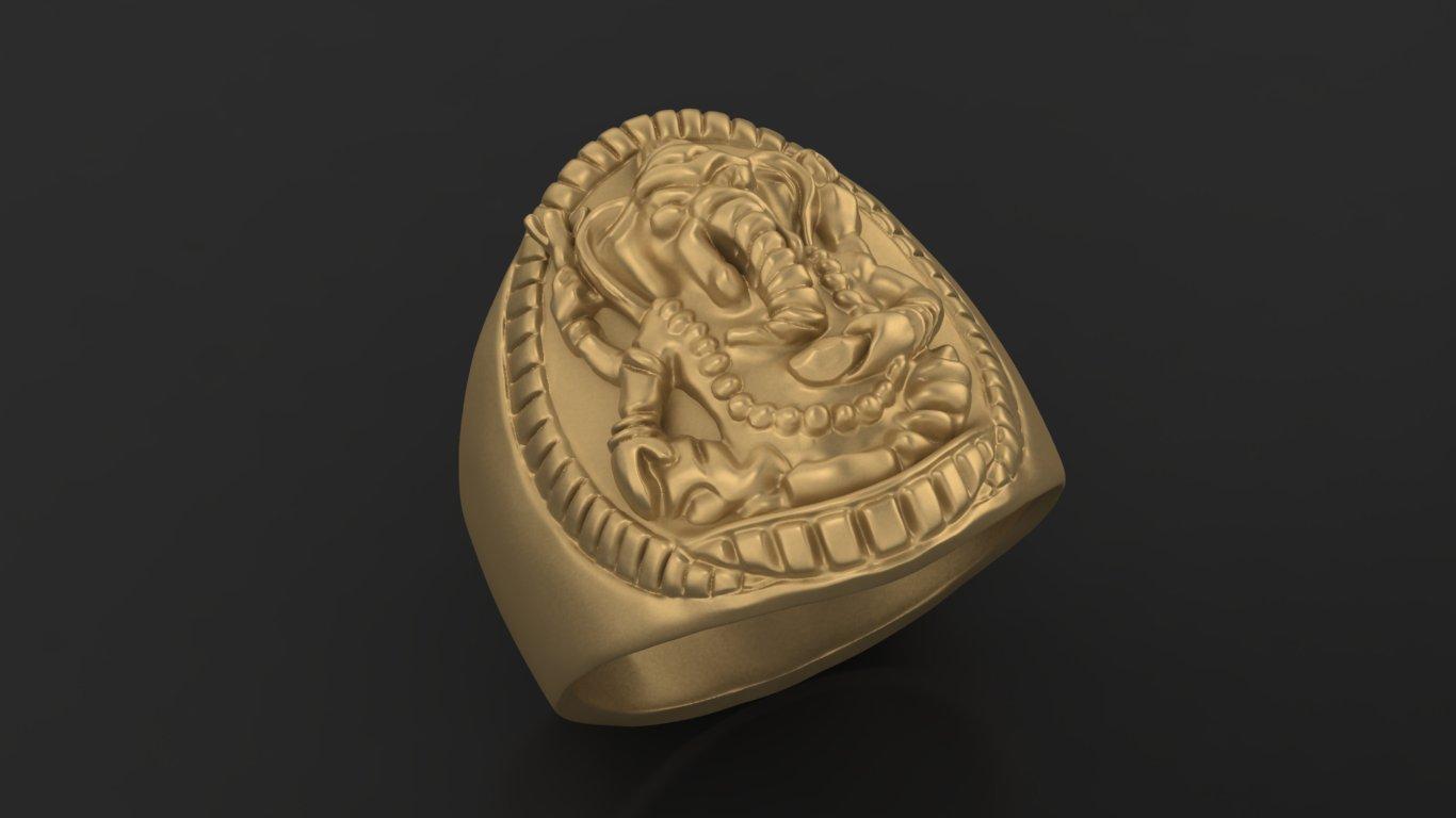 2.jpg Download free STL file Elephant ring Jewelry 3D print model • 3D printing template, Cadagency