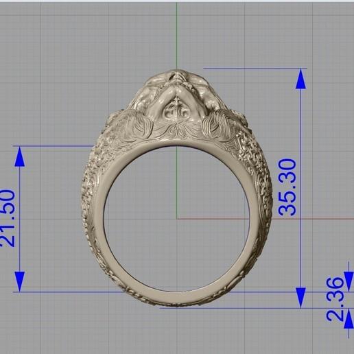 Screenshot_2.jpg Télécharger fichier STL gratuit Bague crâne bijoux bague squelette modèle d'impression 3D • Plan pour imprimante 3D, Cadagency
