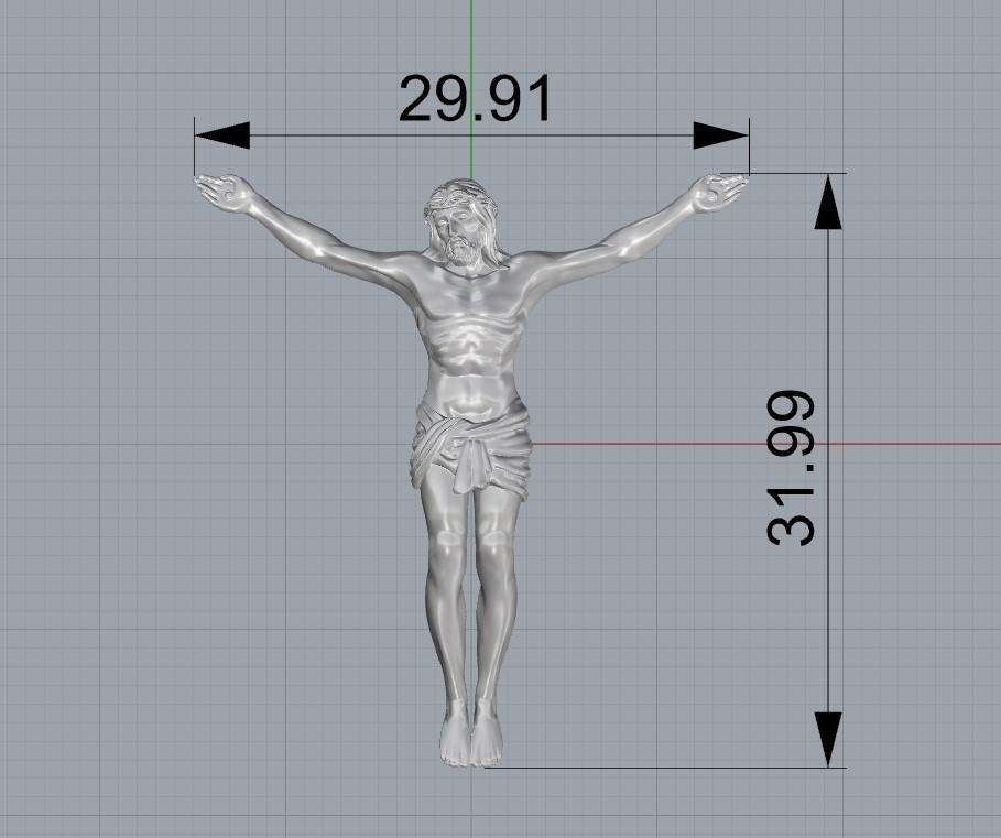 Screenshot_1.jpg Télécharger fichier STL gratuit Pendentif Jésus bijou croix prier chrétien modèle d'impression 3D • Objet imprimable en 3D, Cadagency