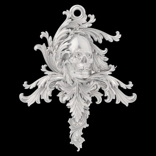 Télécharger fichier STL gratuit pendentif crâne avec motifs bijoux modèle d'impression 3D • Modèle à imprimer en 3D, Cadagency