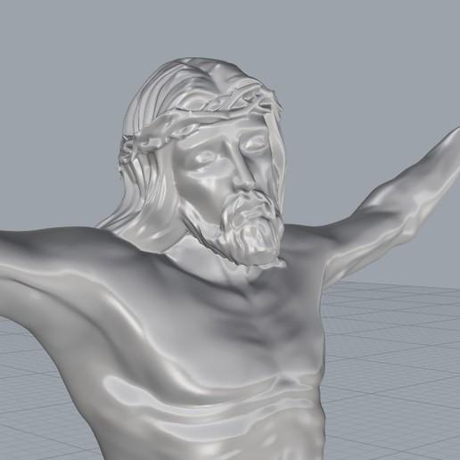 Screenshot_4.jpg Télécharger fichier STL gratuit Pendentif Jésus bijou croix prier chrétien modèle d'impression 3D • Objet imprimable en 3D, Cadagency