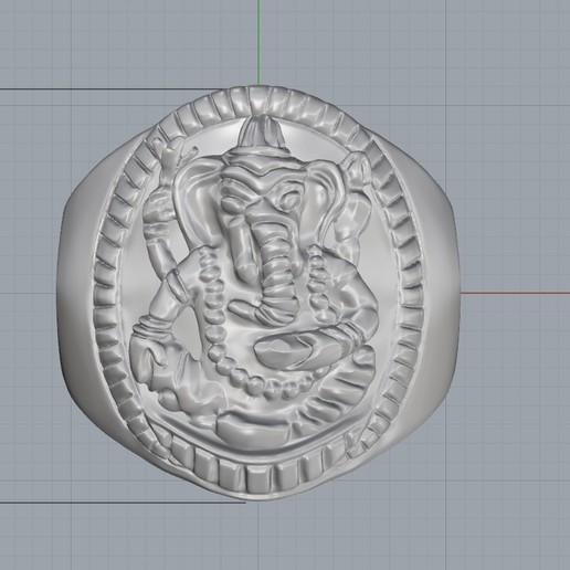 Screenshot_3.jpg Download free STL file Elephant ring Jewelry 3D print model • 3D printing template, Cadagency
