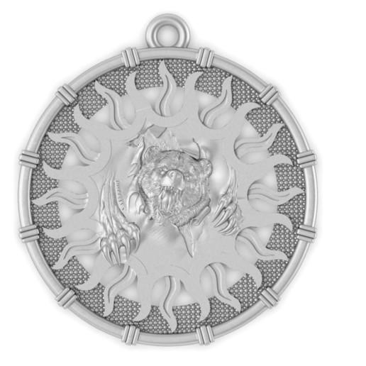 Télécharger fichier STL gratuit tête d'ours pendentif médaillon bijou modèle d'impression 3D • Design à imprimer en 3D, Cadagency