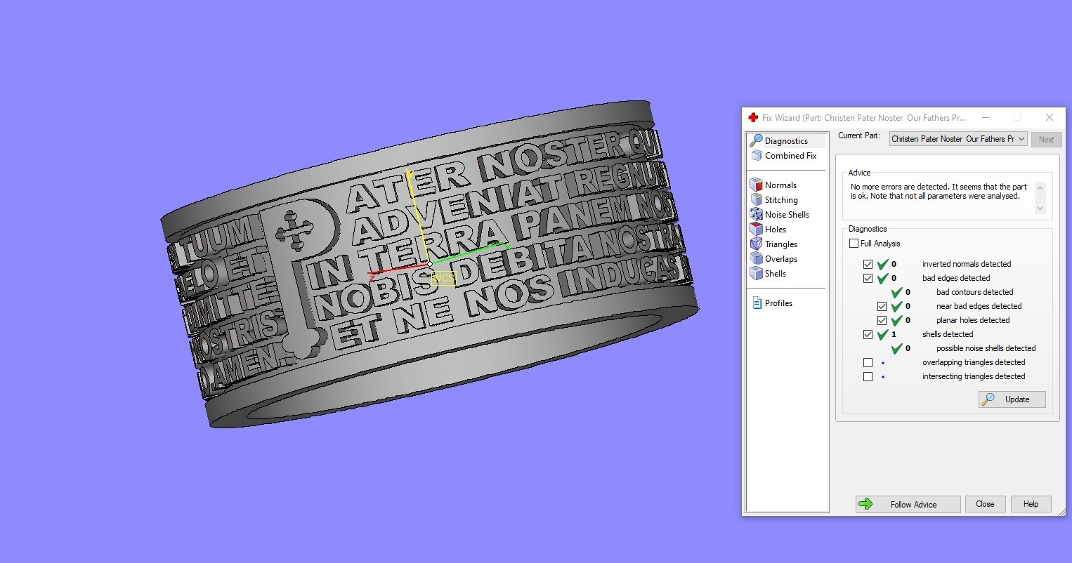 Screenshot_1.jpg Télécharger fichier STL gratuit Christen Pater Noster Our Fathers Bague de prière Modèle d'impression 3D • Plan à imprimer en 3D, Cadagency