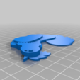 Download free 3D printing templates Chickens Whirligig V2, Sparky6548