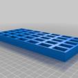 Download free STL file Bobbin Tray • 3D printer object, Sparky6548
