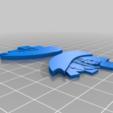 bf8aa8cb20b3155c484f09e49d926363.png Télécharger fichier STL gratuit Santa Whirligig • Objet pour imprimante 3D, Sparky6548