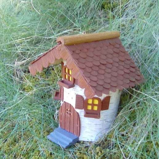 Download free STL file Gnome House • 3D print template, Sparky6548