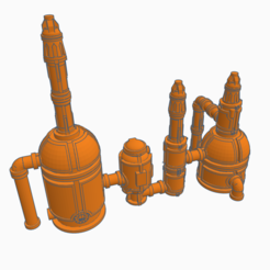 PIC.PNG Download free STL file Low Poly Sector Mechanicus for EPIC • 3D print template, SevenUnited