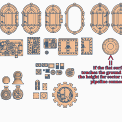 Overview.PNG Download free STL file Bitz for Scifi Buildings 4 • Object to 3D print, SevenUnited