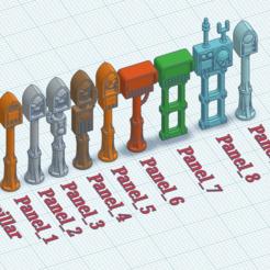 overview.PNG Télécharger fichier STL gratuit Terminaux gothiques • Design imprimable en 3D, SevenUnited