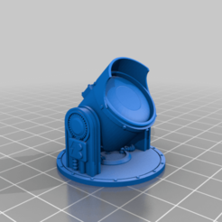 Download free STL file Searchlight • Template to 3D print, SevenUnited