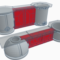 wallc.PNG Download free STL file Wall Addon for Sector Mechanicus • Design to 3D print, SevenUnited