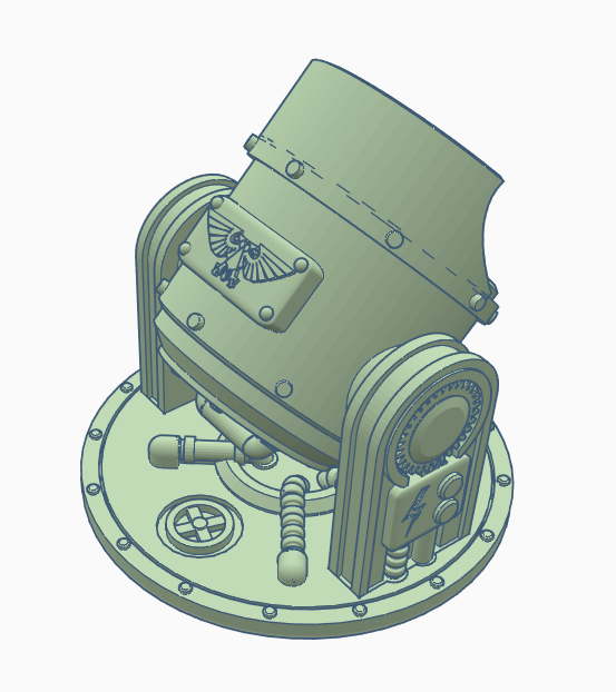 Searchlight.PNG Download free STL file Searchlight • Template to 3D print, SevenUnited