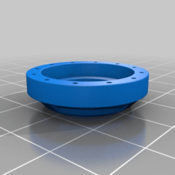 242499b90d92d8a3c1900d62b4687f6d.png Download free STL file Adapter Ring for Sector Mechanicus Pipes • 3D printable template, SevenUnited