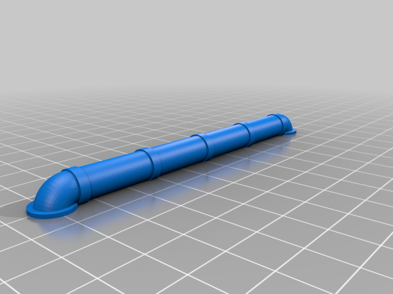 p2.png Download free STL file Walkway Addon; Cables,Pipes, Signs • 3D print model, SevenUnited