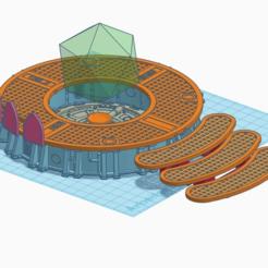 Télécharger fichier imprimante 3D gratuit Holo Station Strategium, SevenUnited