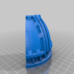Download free STL file Remix of Industrial Imperial Sector Alchomite Stack Dome • 3D printer model, SevenUnited