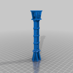 Single_Support_Pillar.png Download free STL file Walkway single support pillar • 3D print object, SevenUnited