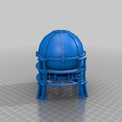 Download free STL file Gas tank with frame • 3D printer object, SevenUnited