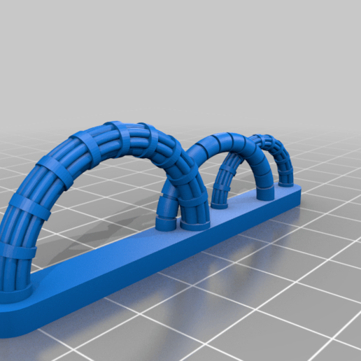 c7.png Download free STL file Walkway Addon; Cables,Pipes, Signs • 3D print model, SevenUnited