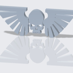 Guard.PNG Download free STL file Imperial Guard Icon • 3D print object, SevenUnited
