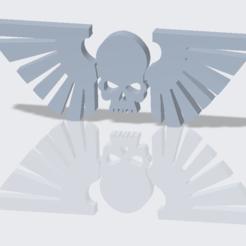 Download free 3D printer templates Imperial Guard Icon, SevenUnited