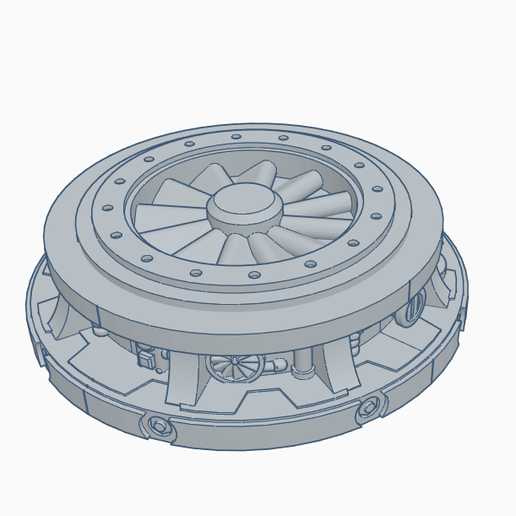 wd.PNG Download free STL file SM Pillar 61mm • 3D printing object, SevenUnited