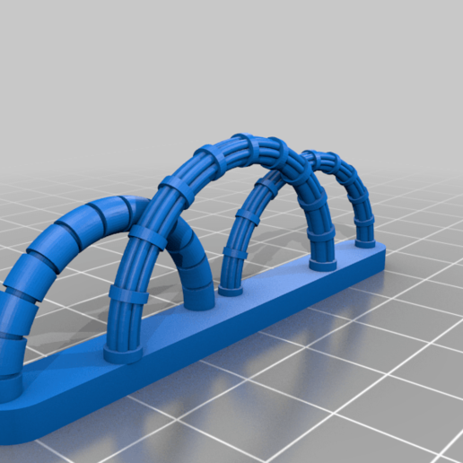 c5.png Download free STL file Walkway Addon; Cables,Pipes, Signs • 3D print model, SevenUnited