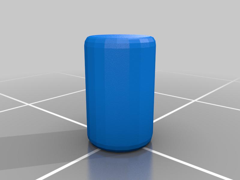 Pin_UT.png Download free STL file Walkway single support pillar • 3D print object, SevenUnited
