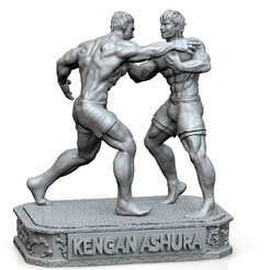 Download 3D printing templates KENGAN ASHURA, raul111