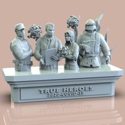 untitled.177.jpg Download free STL file TRUE HEROES • 3D printer design, raul111