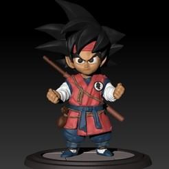 Télécharger fichier 3D gratuit Petit Dragon Ball Goku, raul111