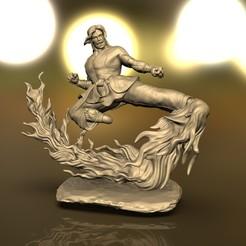 untitled.231.jpg Download STL file KEN MASTERS STREET FIGHTER • 3D printable template, raul111