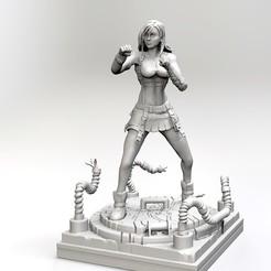 Download 3D print files TIFA LOCKHART FINAL FANTASY VII, raul111