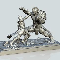 Thor Ragnarok.jpg Download STL file THOR RAGNAROK • 3D printer design, raul111